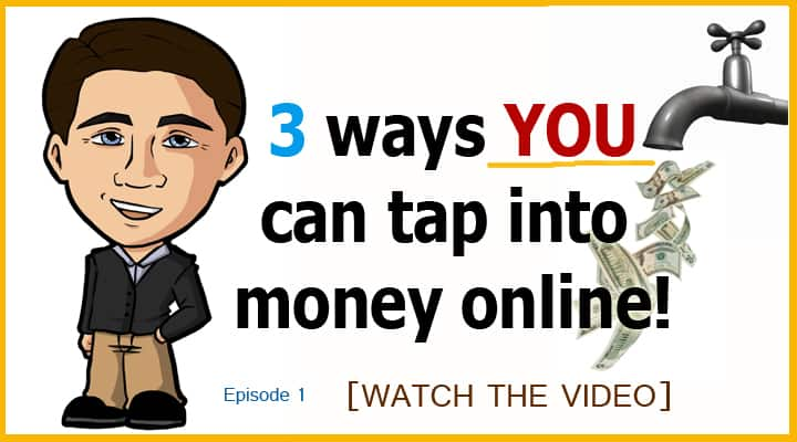 3 ways to tap into money on the internet