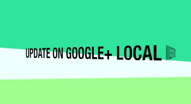 Google+ Local for business update