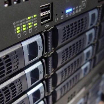 web-server-rack