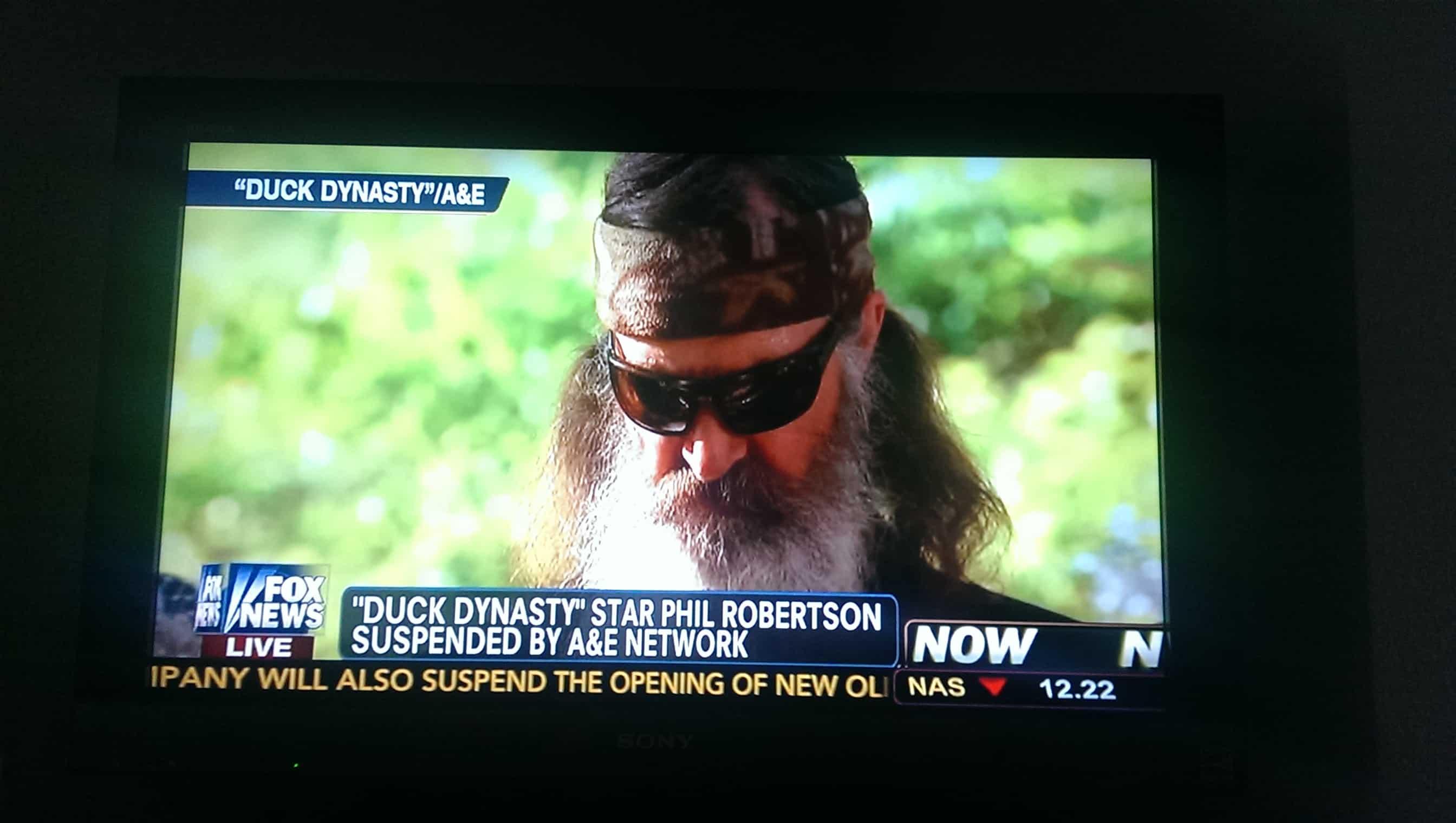 Keep Phil Robertson on Duck Dynasty