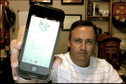 Firefighter Invents Smartphone App