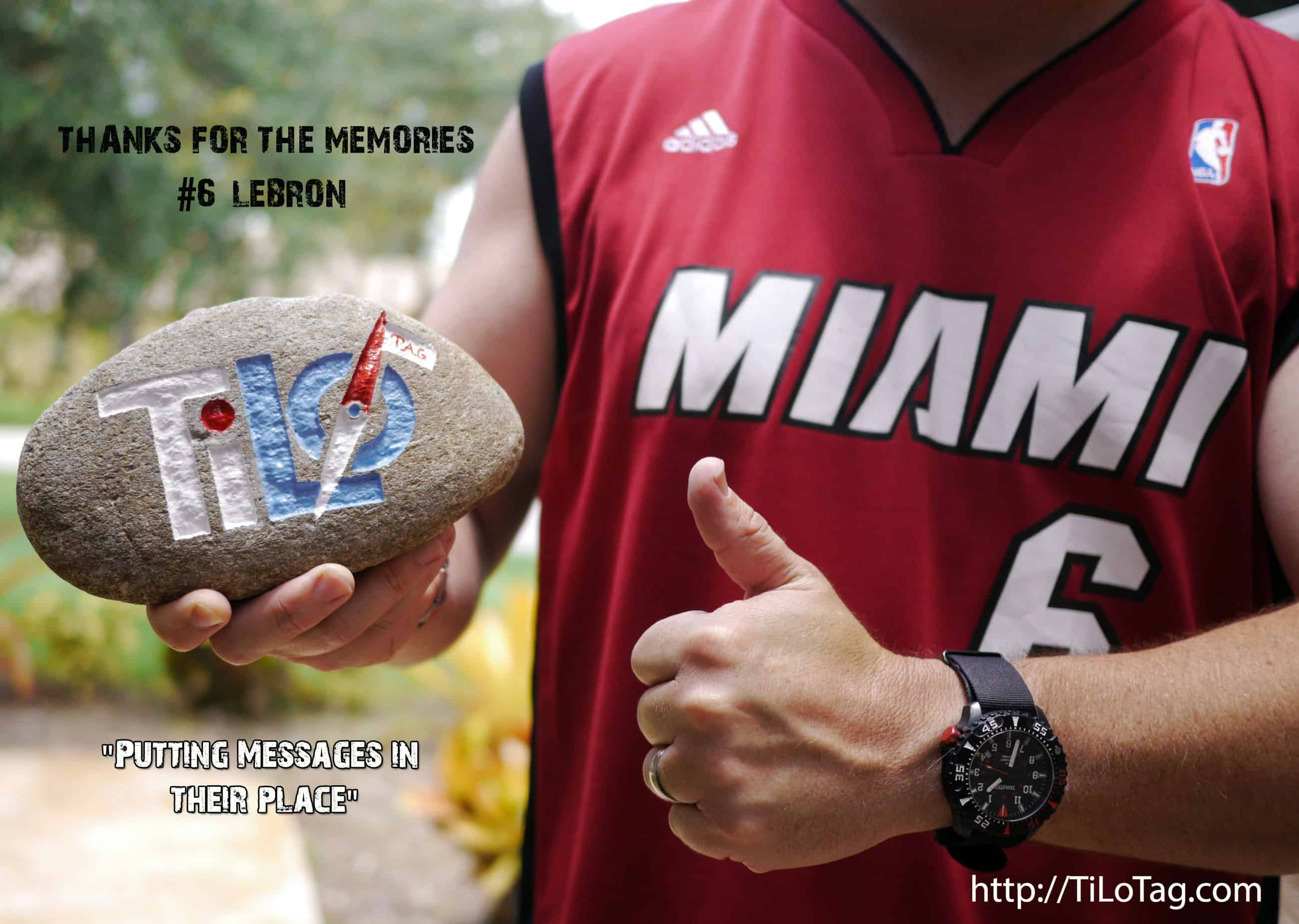 #6 LeBron, I'm keeping my jersey!